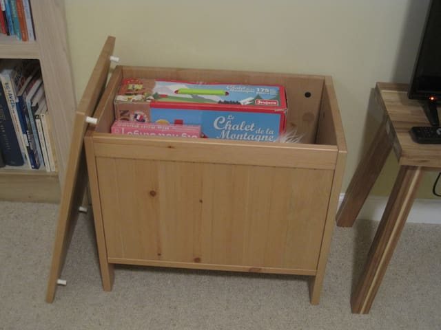 Toy chest for kids