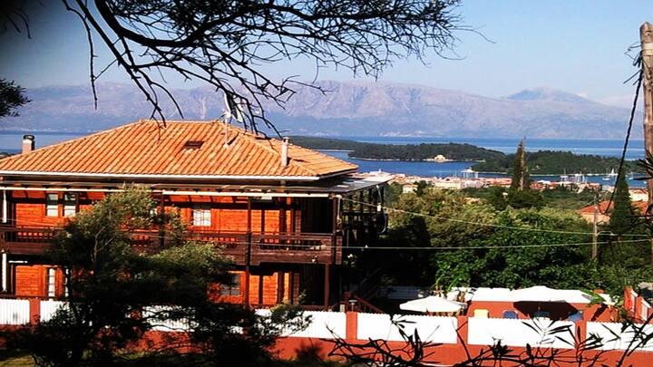 VILLA PARADISE, NYDRI, LEFKADA, GREECE