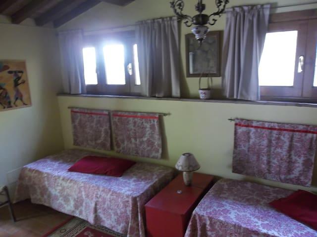 camera con bagno - Montescudaio - Pousada
