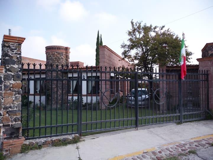 Linda casa rústica en Tequisquiapan