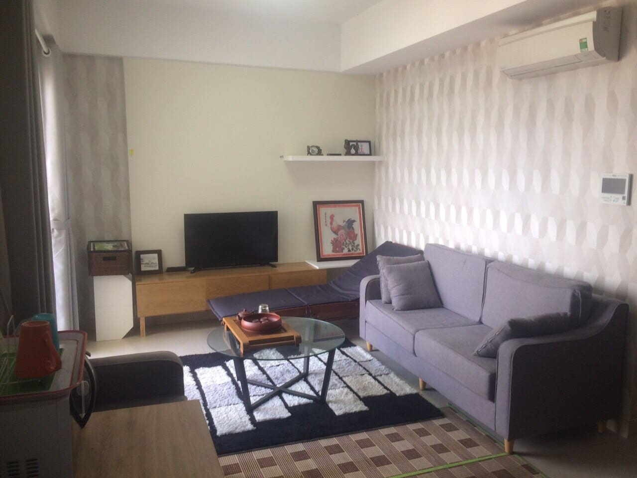 Comfort living room equipped with FPT play cable