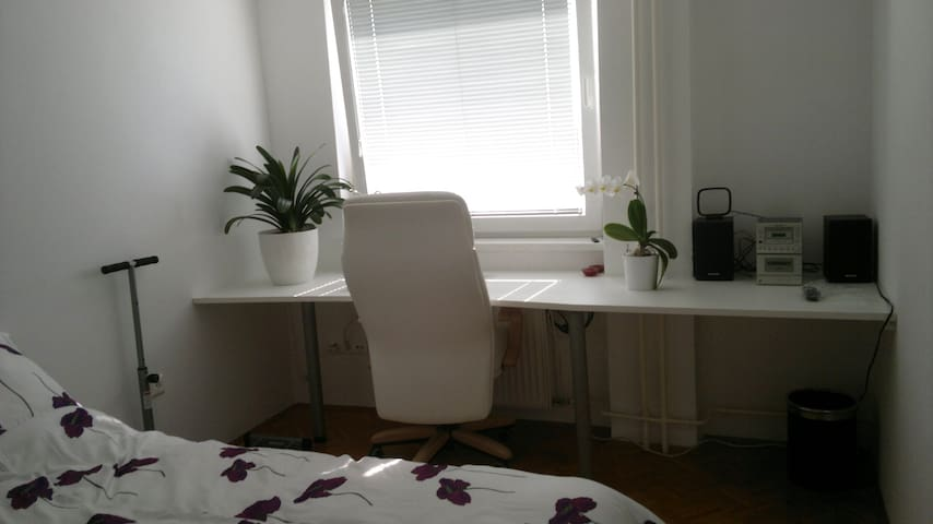 Cute white room - center Ljubljana - Ljubljana - Apartment