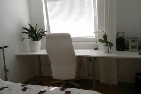 Cute white room - center Ljubljana - Liubliana - Departamento