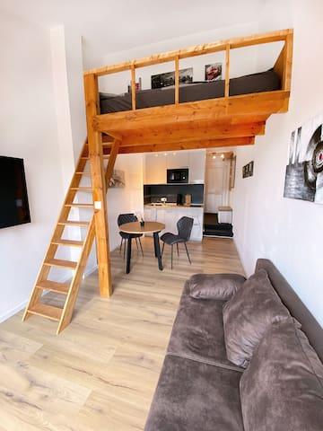 Traumhaftes Dachterrassen - Apartment (Uninähe)