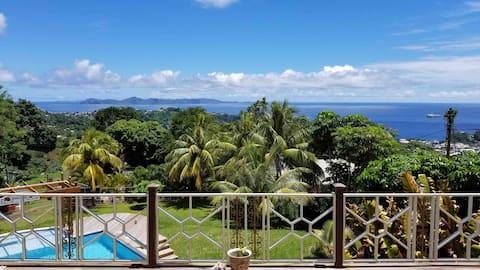 forst Villa- Best ocean view in St.Vincent!!!