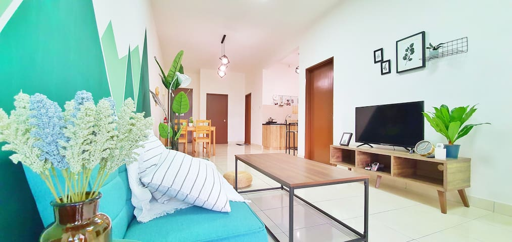 Living area with aircon