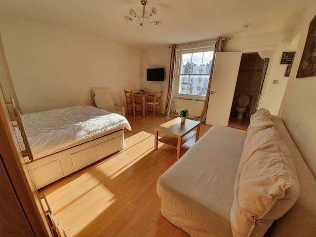 Large Studio Apartment with En-suite Kensington