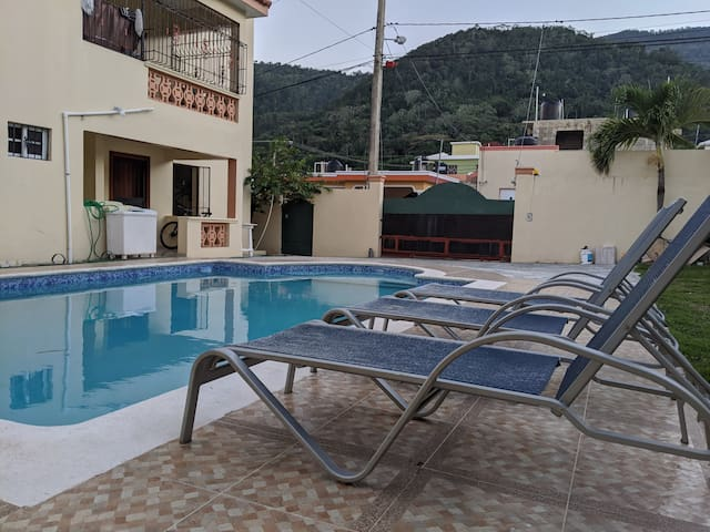 House in Puerto Plata, Pool, screen. Only 1st lev