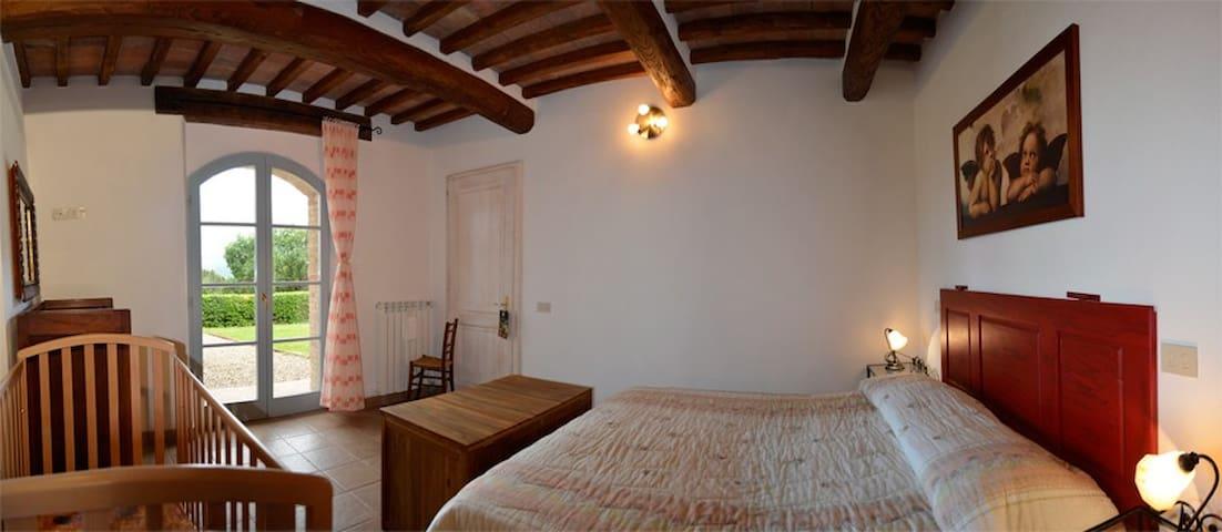 Master bedroom of the villa