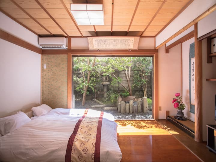 Garden view suite!Near Shijo subway station.