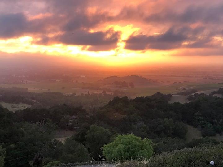 Sonoma Mountain Terrace-Sunset View