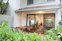 Enjoy indoor outdoor living
