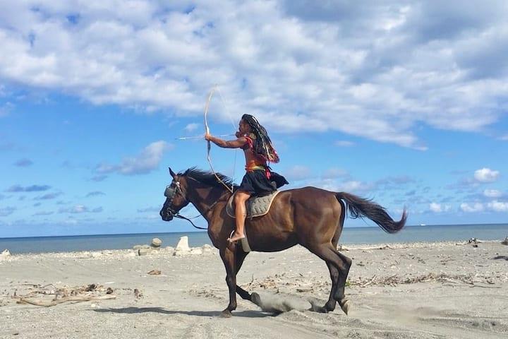 3樓2小房=horse riding Experience雙人床台東鐵花村