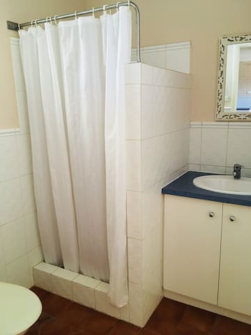 Self contained bathroom