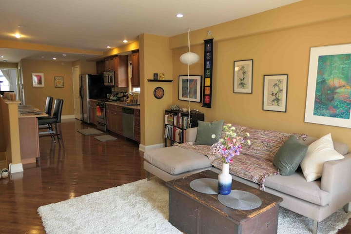 Cozy 1-BR with deck in Pennsport Philly