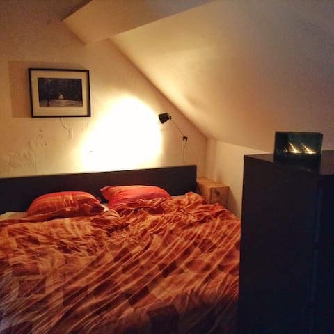 Room in cosy and little house near centre of Ghent