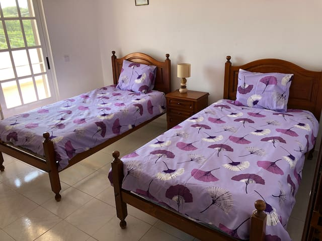 Double room, close to the beach