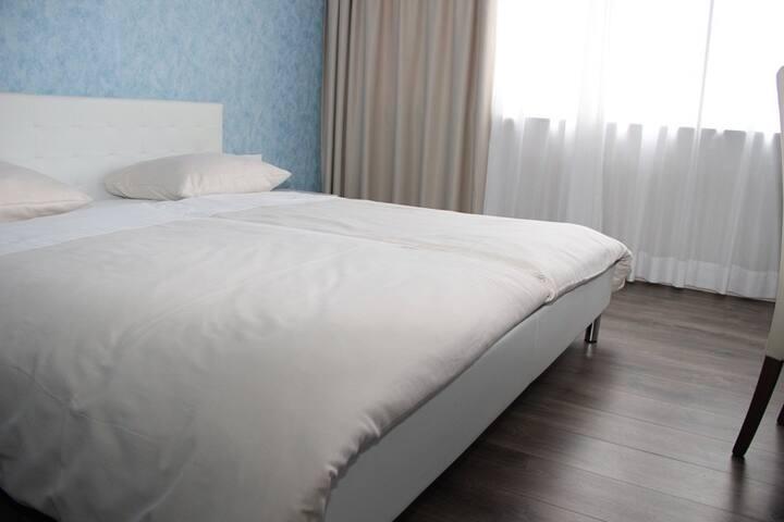 Parkhotel David, (Lörrach), Doppelzimmer mit Dusche und WC