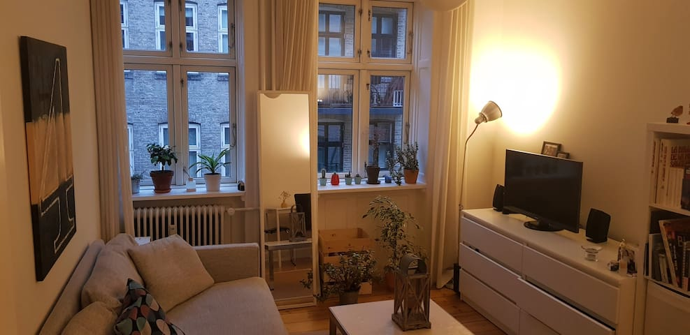 Cosy apartment with balcony in central Copenhagen