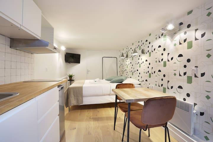 Cosy studio near Montorgueuil