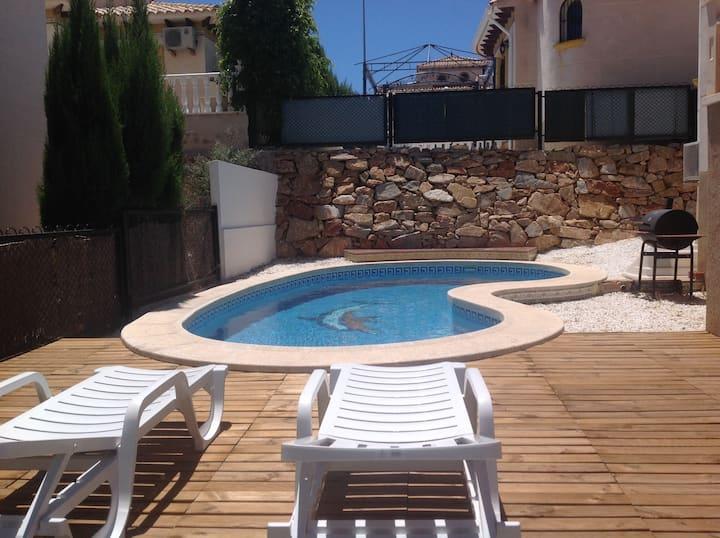 Costa Blanca La Zenia swimingpool home 1
