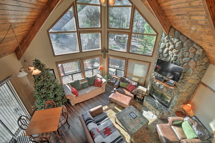 NEW! 4BR Cabin w/Porch - 20 Mins from Flagstaff!