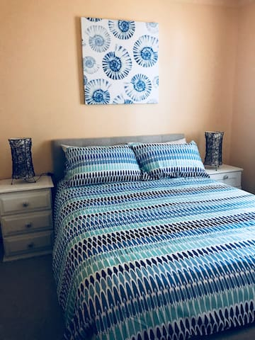 Bedroom three double bed