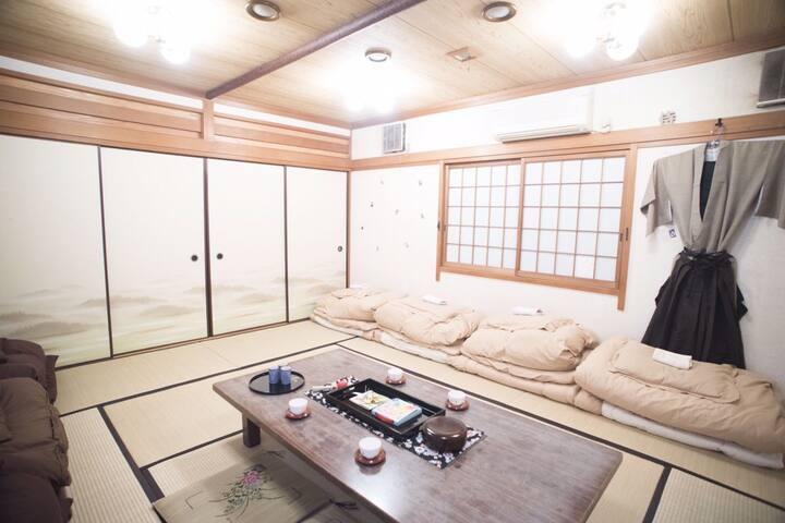Samurai Room!! IMAZATO 88 OSAKA *TSUBAKI* - 大阪市 - House