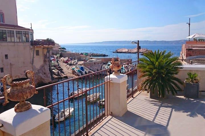 Une maison à Marseille les pieds dans l'eau  ! - มาร์เซย์ - บ้าน
