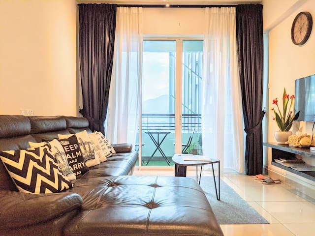 Annie Rustic Majestic Apt *6+2 pax @ Ipoh New Town