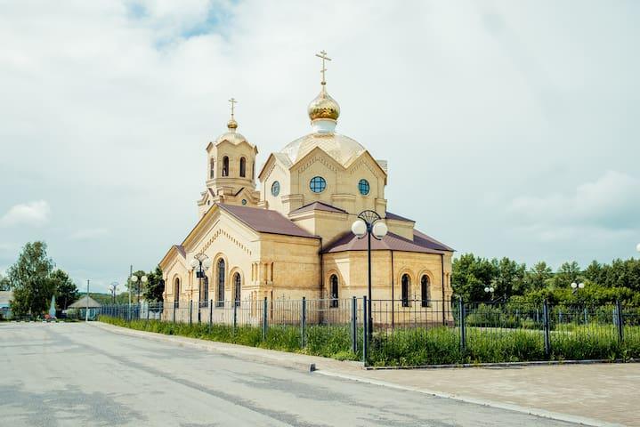 гостевой дом на берегу реки для работы и отдыха - Alekseevka