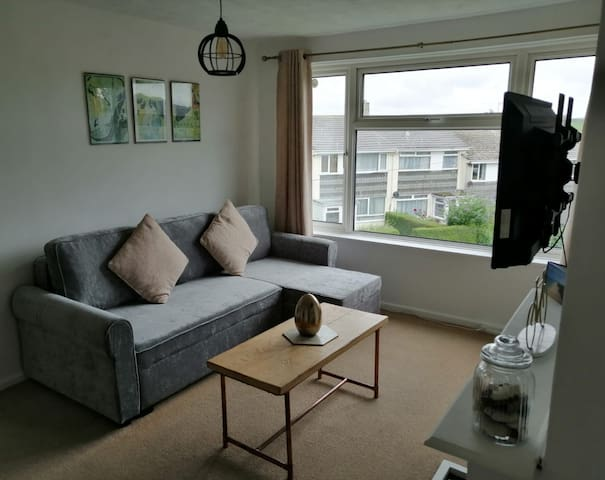 Beautiful light and bright apartment in Porthleven