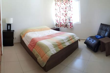 Habitacion Doble en departamento centrico - San Luis Potosí - Lägenhet