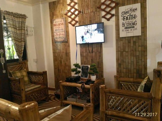 A Filipino Rustic Style Duplex in Cavite (UNIT 2)