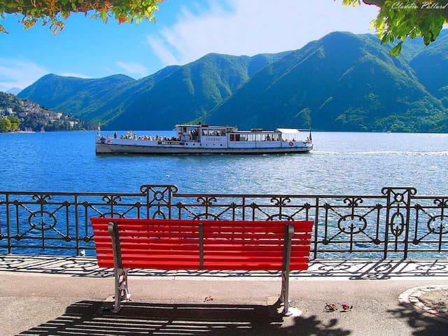 Fantastic Chalet on Lugano Lake! - Porlezza - Bungalow