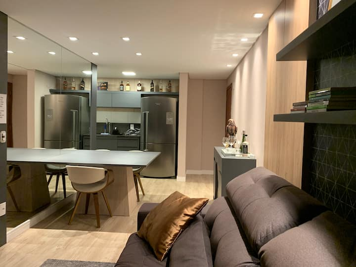 Apartamento novo em Brusque, perto da FIP e centro