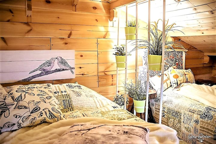 """Chalet Légend'eyre close to the port of """"Tuiles"""""""