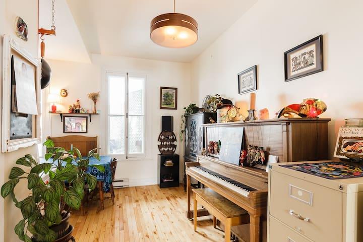 Exceptional room downtown Québec - Ville de Québec - Apartamento