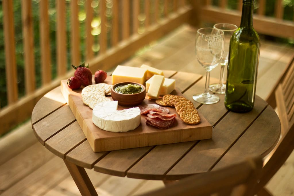 Put together a local charcuterie board