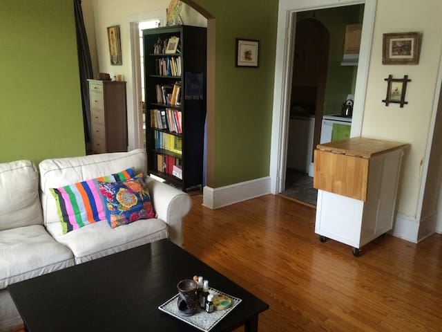 Cozy Apartment in Downtown Lenox - Lenox - Flat