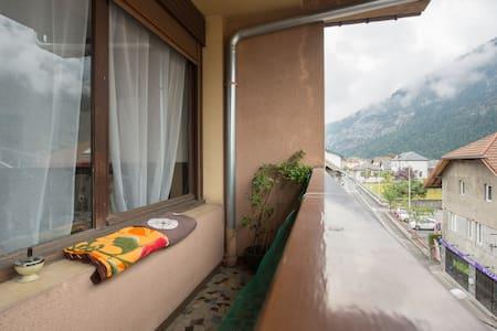 F1 situé au pied des montagnes - Apartment