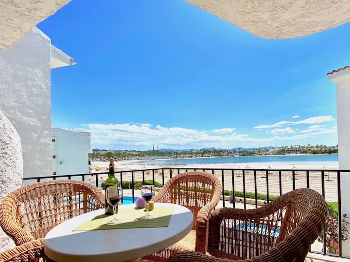Alcúdia Carabela 3 with pool and great sea views!
