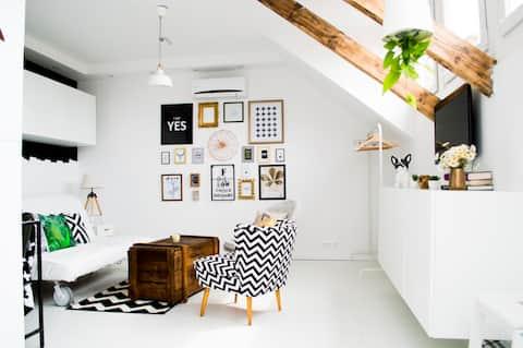 Exkluzív apartman Veszprém abszolút belvárosában