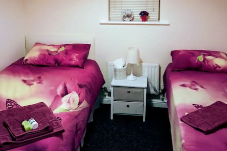 Cozy Twin/Double Room in Private Flat £100/week!