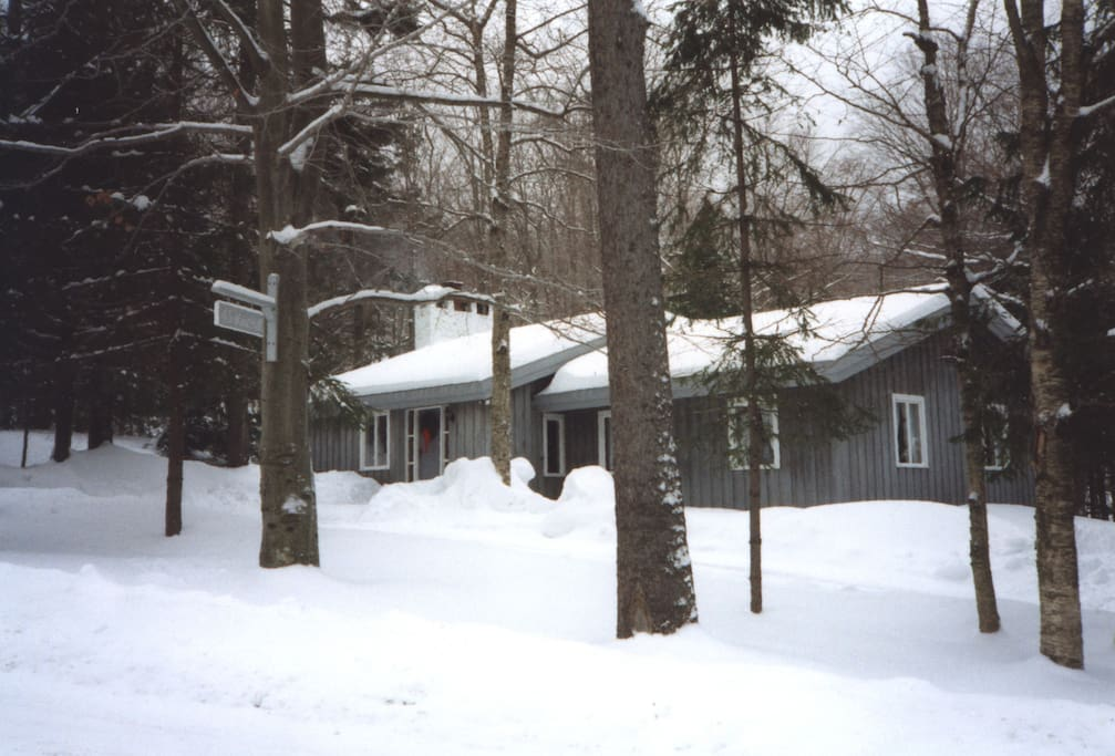 Cozy Ski Cabin On Stratton Mt Chalets For Rent In