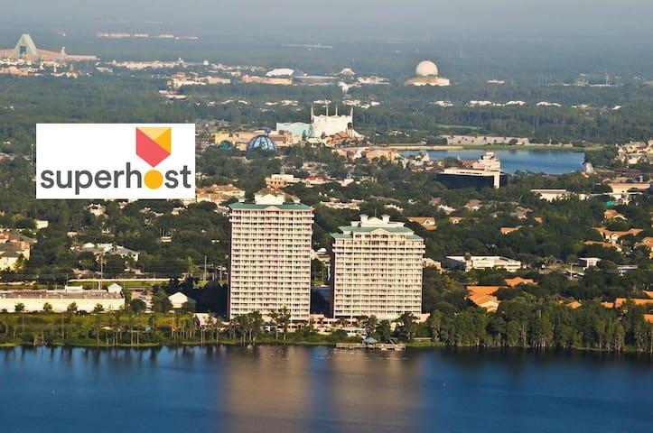 Beautiful Condo near Disney and Lake Bryan - Orlando - Apartamento