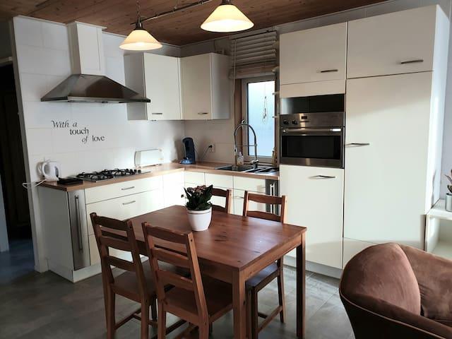 Gezellig appartement in Kornhorn, nabij Groningen