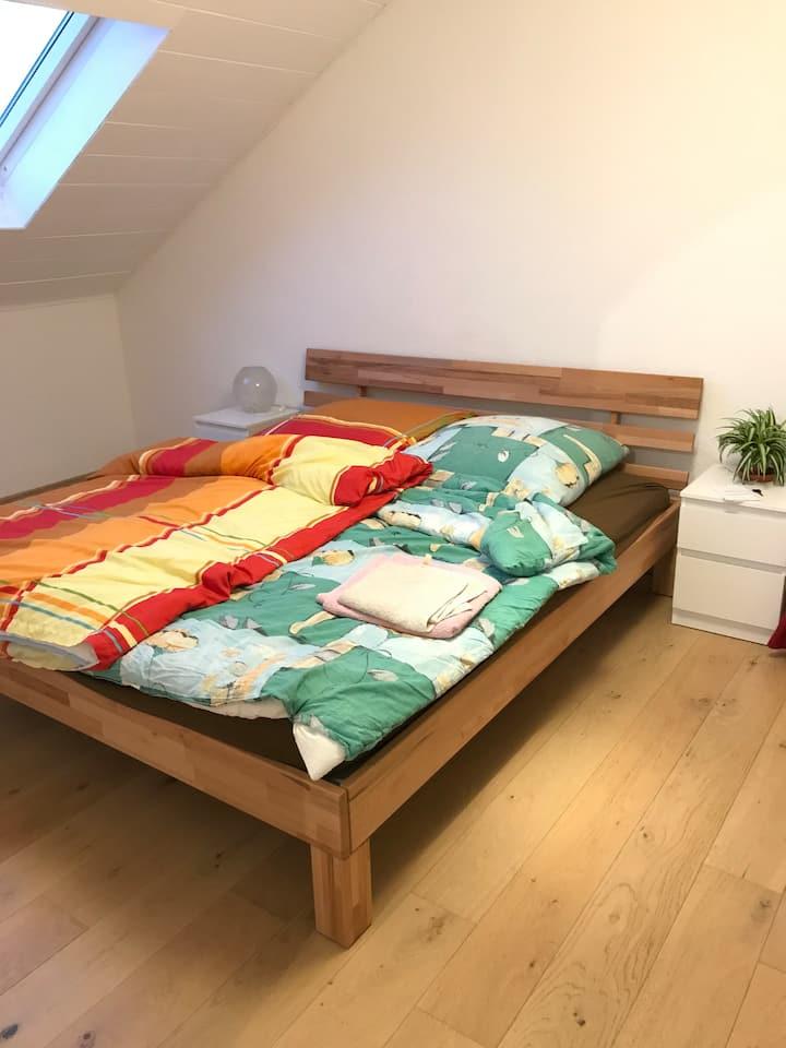 Cozy bedroom close to Heidelberg