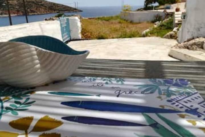 Studio romantique face à Platys Gialos, Sifnos