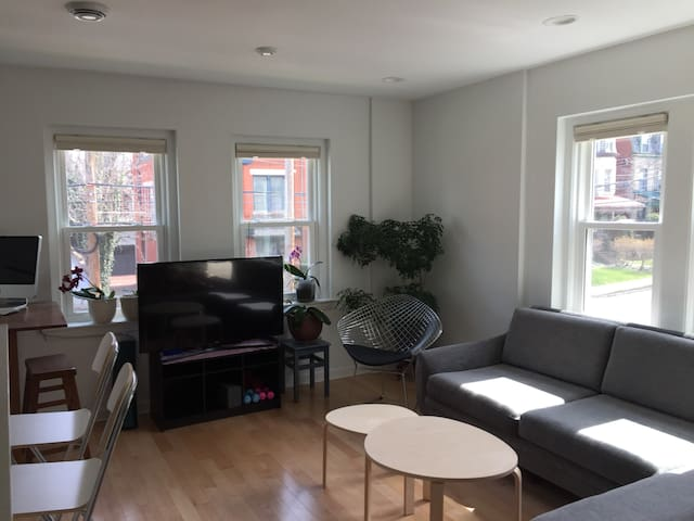 Bright & sunny apartment in the heart of Shadyside